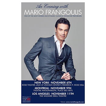 Mario performs in North America