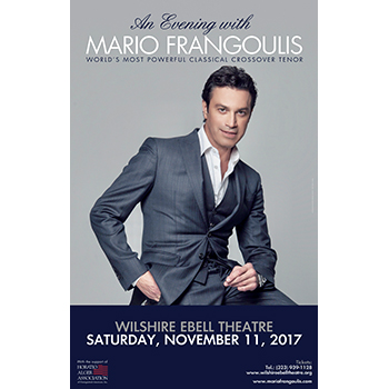 An Evening with Mario Frangoulis @ Los Angeles